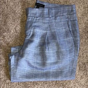 Banana Republic Blue Striped Shorts